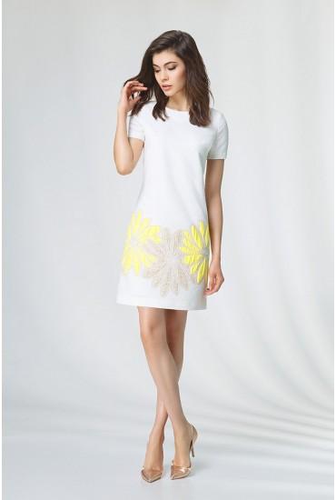 Модное женское платье  М-537
