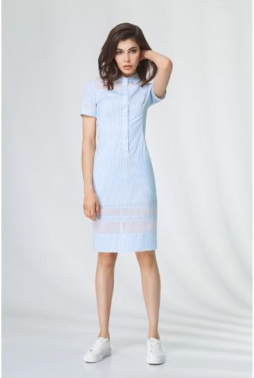 Платье-рубашка  М-543