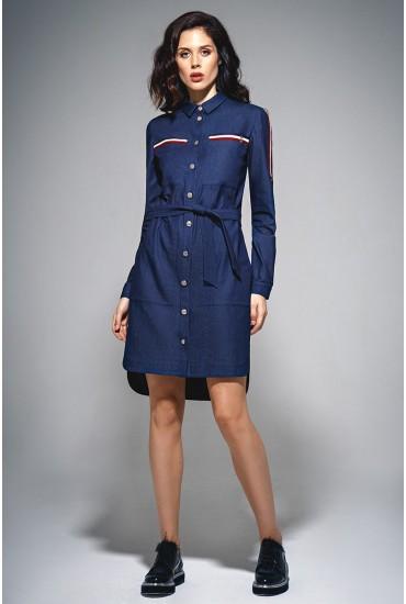 Платье-халат М-691
