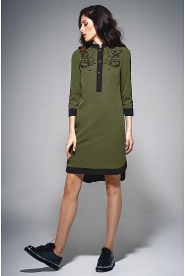 Платье-рубашка М-693