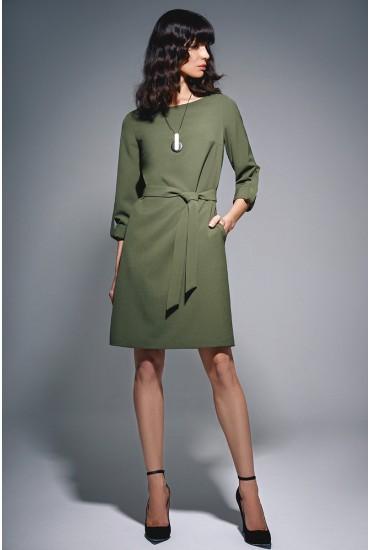 Платье прямого силуэта М-724