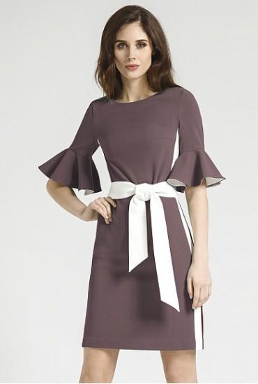 Платье прямого силуэта М-732