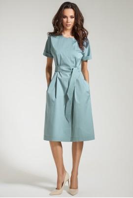 Голубое платье М-10-33