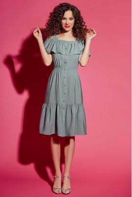 Платье на бретелях  М-11-01