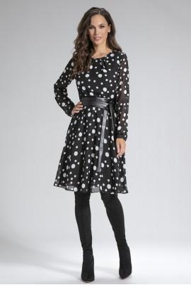 Платье с поясом М-11-89