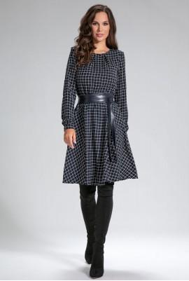 Платье с поясом М-12-05