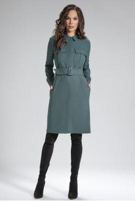 Платье с поясом М-12-14