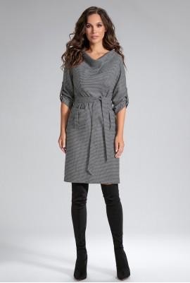 Платье с поясом М-12-60