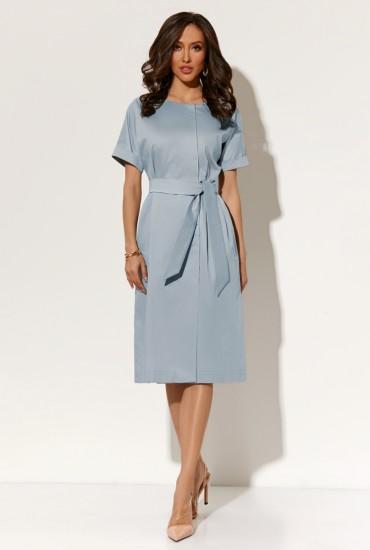 Голубое платье М-1552