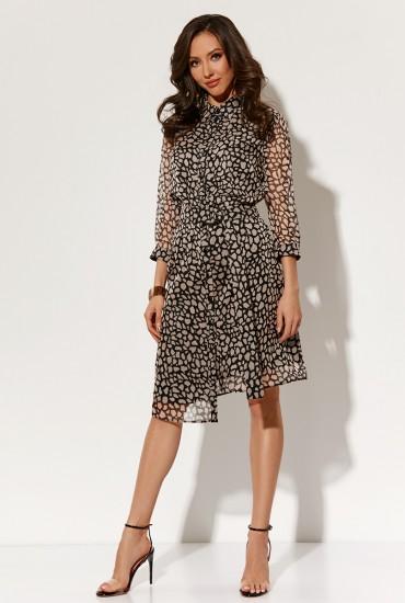 Оригинальное платье М-1553
