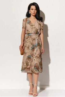 Платье с поясом М-1554