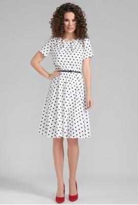 Платье в горошек М-80-55
