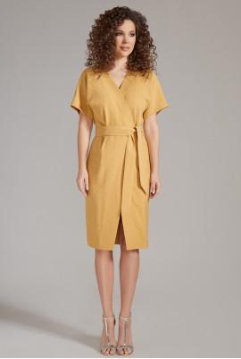 Платье на запах М-82-88