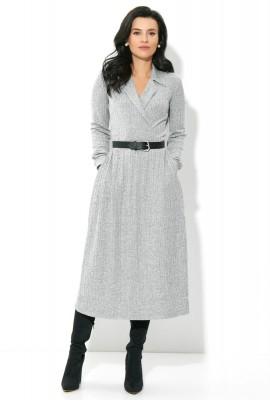 Платье с поясом М-1614