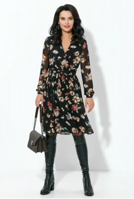 Шифоновое платье М-1823