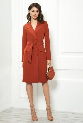 Платье в деловом стиле М-1709