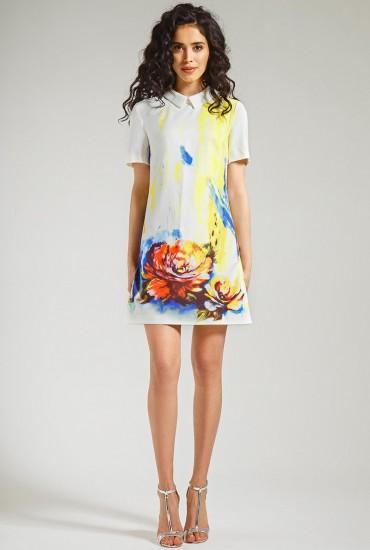 Оригинальное платье М-546