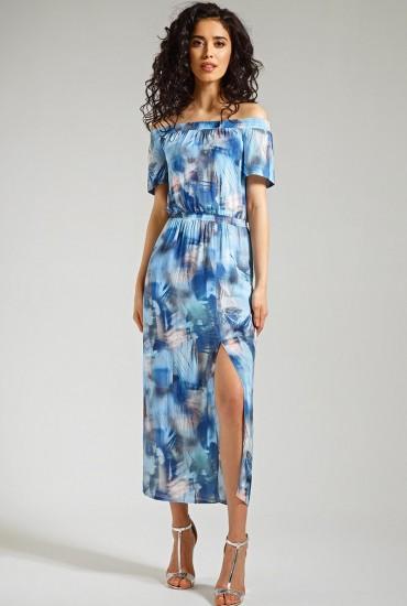 Романтичное платье М-553