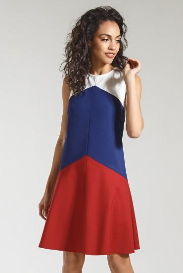 Оригинальное платье М-786