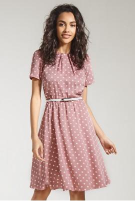 Платье с юбкой-клеш  М-810
