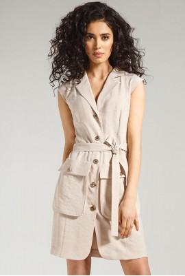 Платье без рукава  М-821