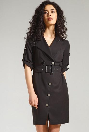 Платье с поясом  М-837